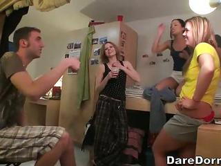Check Out Video Chronicles Featuring Another Dorm Party With Sweet Sex...