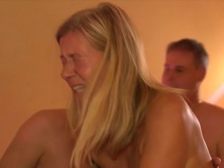 German Amateur ,Mature Orgy in Swingers Club - Scene 1
