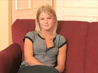 Blond Teen Meets Big Cock ( Audition)...F70