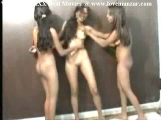 Indian Nude Village Girls Flirting Each Other