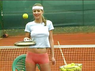 Hot Tennis Girl 1
