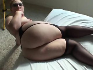 His fat ass wife jiggling for the camera
