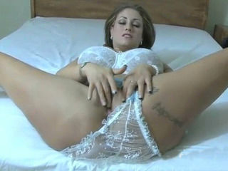 Massive boobs cougar shows off and  fucked on cam