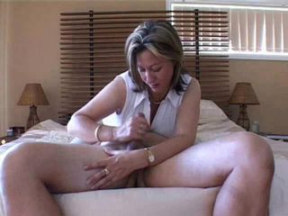 Mature Slut Gives Handjob Compilation