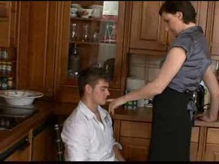 Housewife and younger man fucking hard