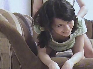 Brunette Cute Doggystyle Teen