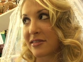 Blonde Bride Cute MILF