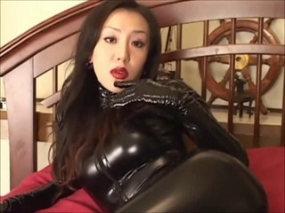 Amazing Asian Cute Fetish Japanese Latex MILF