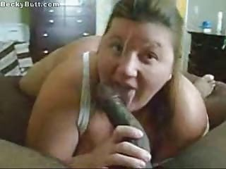 Amatør BBW Stor kuk Blowjob Hjemmelaget Interracial Pov Kone