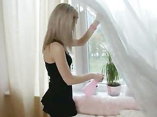 Beauty Russian Blond Fuck In Ass