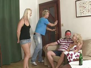 Older Woman Seduces Sweet Girl I...