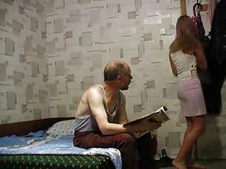 Amateur Daddy Daughter Homemade Old and Young Russian Teen