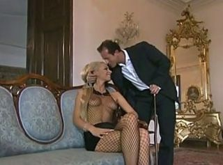 Anal Babe European Fishnet German Pornstar
