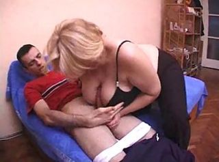 Blonde Granny woman fuck hard with the sweetheart of her daughter