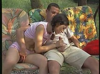 Blowjob Clothed Outdoor Pigtail Teen