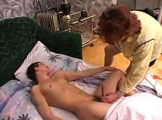 Amateur Handjob Mom Old and Young Sleeping