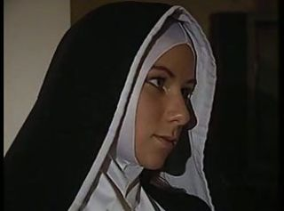 Cute MILF Nun Pornstar Uniform