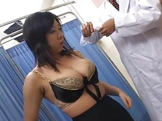 Asian Big Tits Doctor Lingerie MILF Natural