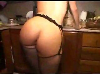 Amateur Ass European Italian Kitchen