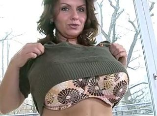 Big Tits Lingerie MILF Stripper
