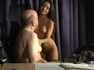 Young student fucking her old teacher