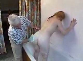 Amateur Ass Bathroom Daddy Daughter Old and Young Teen
