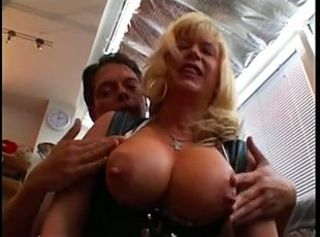 Big Tits Blonde European German MILF