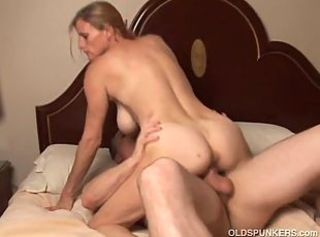 Slutty mature tailer trash loves to fuck