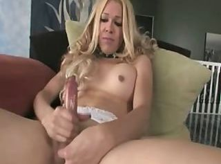 Beautiful fairhair with brutal cock