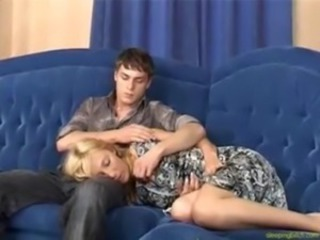 Amazing Blonde Sleeping Teen
