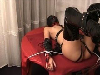 Bondage Fetish Latex Teen
