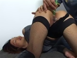 Asian First Time Masturbating Pussy Shaved Stockings Teen Thai Toy
