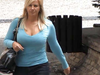 Candid - Busty Bouncing Tits Vol 13