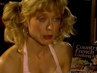 Nina Hartley sucks and rides Peter..