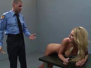 All anal play from the cop