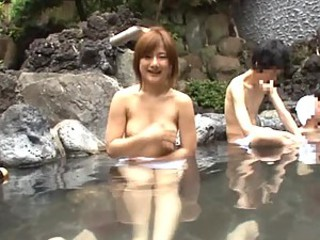 Aimi Sakamoto enjoys a good Fuck Outdoors