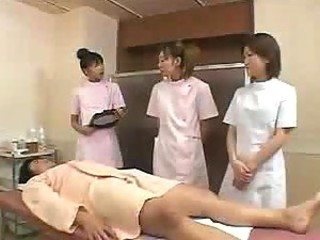 Japanese massage training 03 - part 2 - how to massage a man - no cumshot