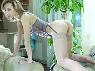 Hot Ass Blonde Takes it All