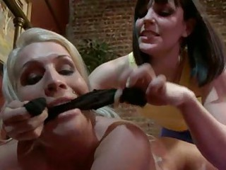Bobbie Star and Sadie Swede lusty roommate make out