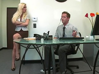 Diamond Foxxx Getting Her Asshole Merged With a Big Dick In The Office