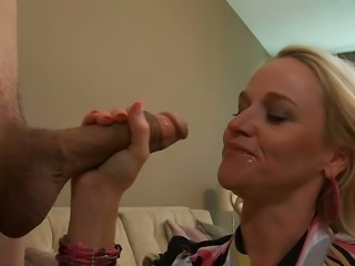 Big cock Blowjob Facial Handjob Teen