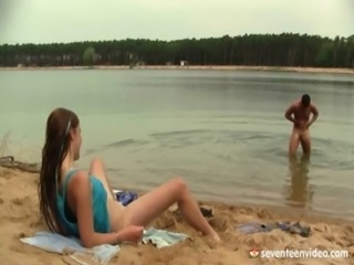 Beach Cute Hardcore Outdoor Teen