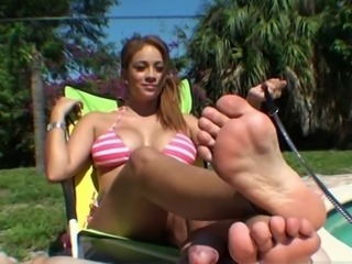 new jamie pool footjob