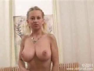 Amazing Big Tits Blonde Natural Teen
