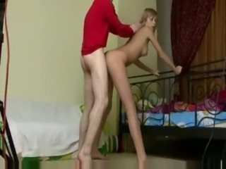Amateur Doggystyle Hardcore Sister Skinny Teen