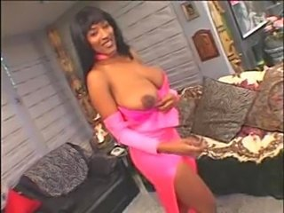 Big Tits Ebony MILF Natural SaggyTits