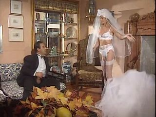 Bride European French Lingerie MILF Stockings Vintage