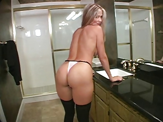 Ass Bathroom MILF Panty Pov