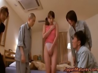 Misa Yuki real asian housewife getting