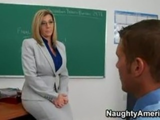 Big Tits MILF School Teacher